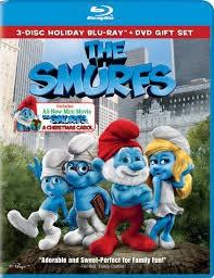 THE SMURFS, BLU-RAY DVD MOVIE