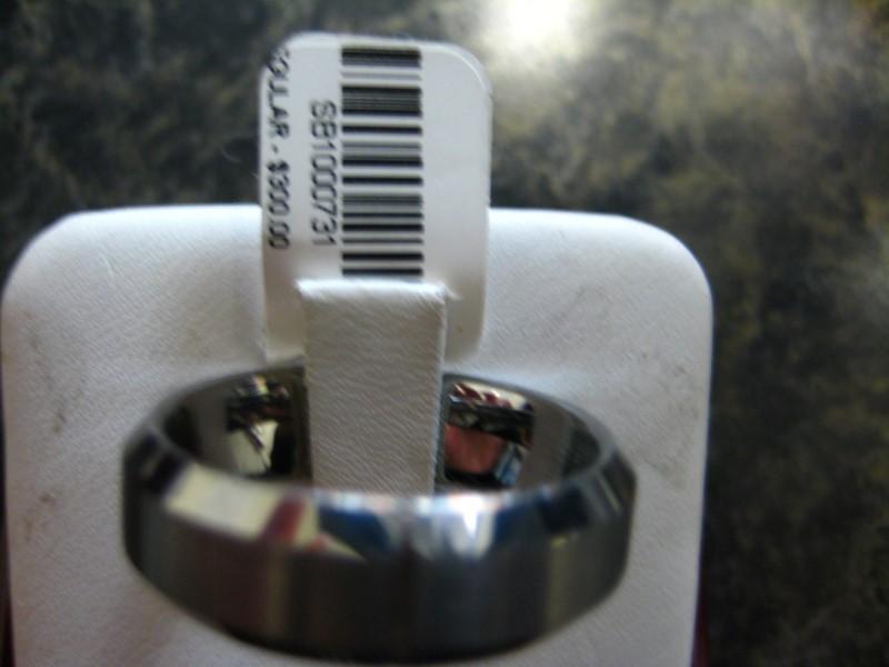 Gent's Ring Silver Tungsten 1g