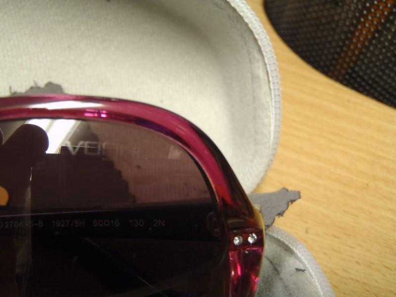 VOUGUE Sunglasses VO2704-S-B Azure Violet Gradient in Case