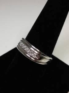 Gent's Diamond Fashion Ring 7 Diamonds .24 Carat T.W. 14K Yellow Gold 8.1g