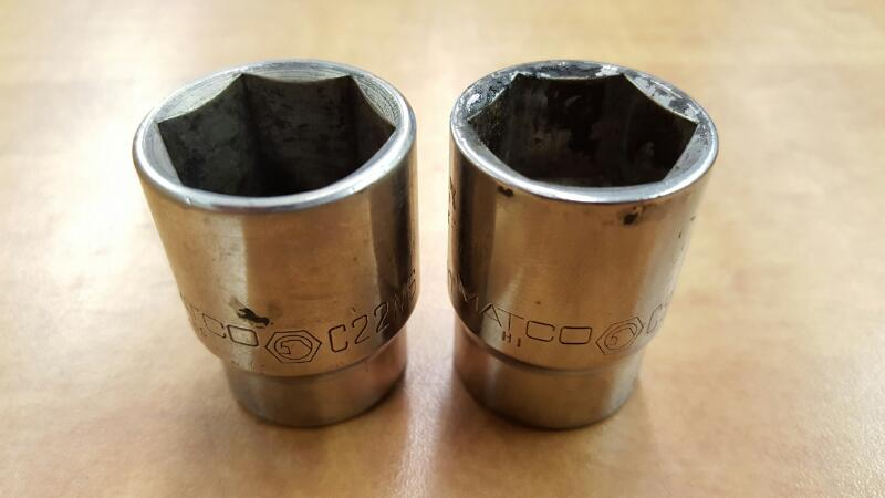 MATCO 21mm & 22m Socket C21M6, C22M6