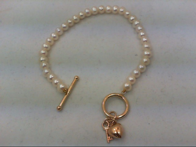 Gold Bracelet 10K Yellow Gold 8.9g