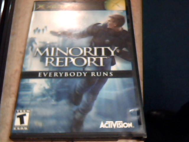 Minority Report Everybody Runs (Microsoft Xbox, 2002) Complete