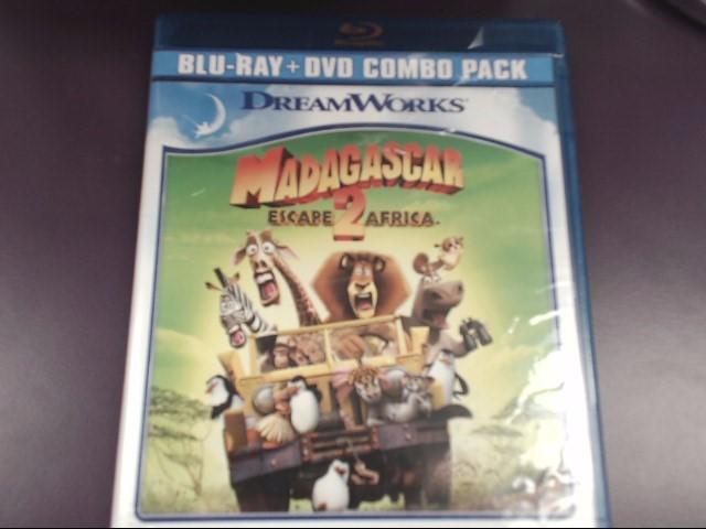 MADAGASCAR: ESCAPE 2 AFRICA, BLU-RAY DVD, TWO-DISC SET (2010)