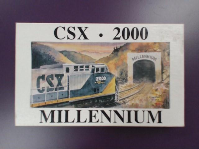 CSX 2000 MILLENNIUM COLLECTORS POCKET KNIFE