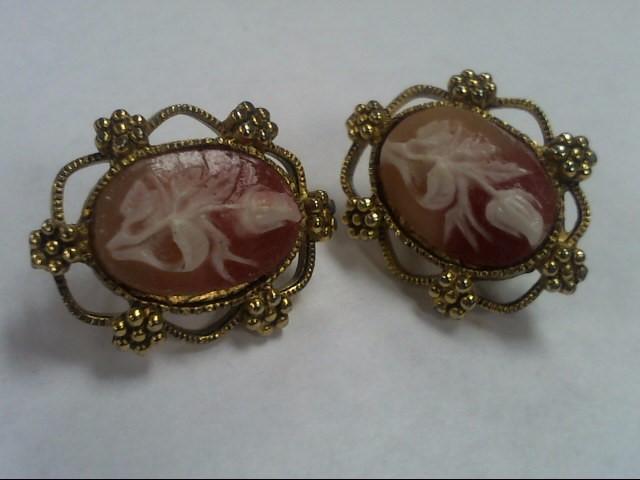 Earrings Antique Stainless 11.7g