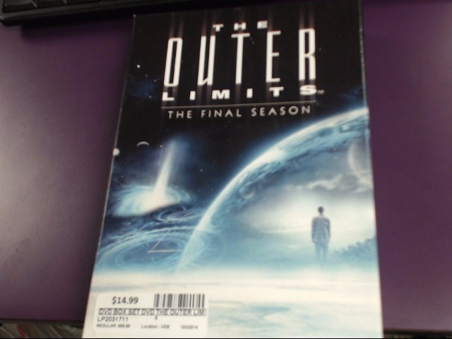 DVD BOX SET  THE OUTER LIMITS THE FINAL SEASON