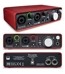 FOCUSRITE Computer Recording SCARLETT 2I2
