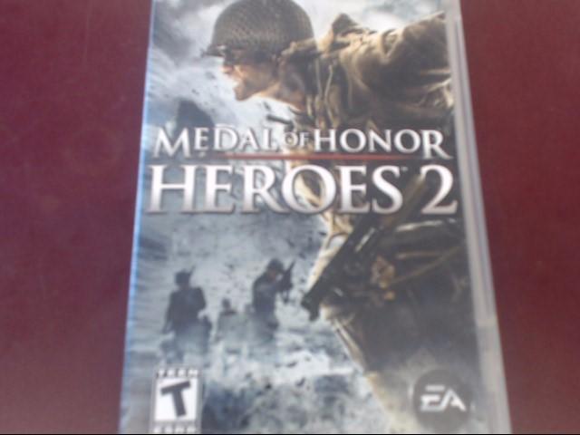 SONY PSP MEDAL OF HONOR HEROES 2