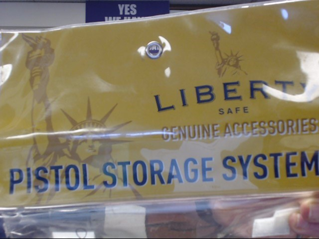 LIBERTY SAFE Accessories 9281 PISTOL STORAGE SYSTEM