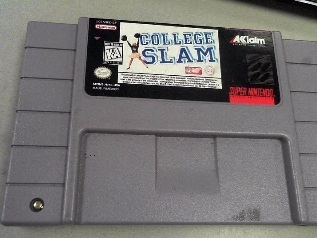 NINTENDO Nintendo SNES Game COLLEGE SLAM