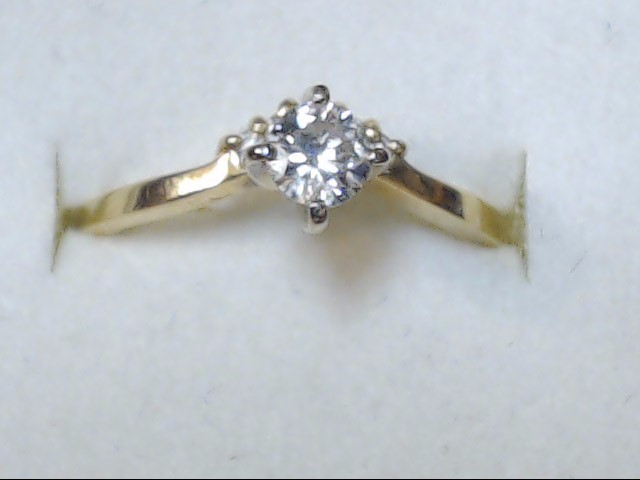 DIAMOND RING 14KT 2.70G   S-8.5
