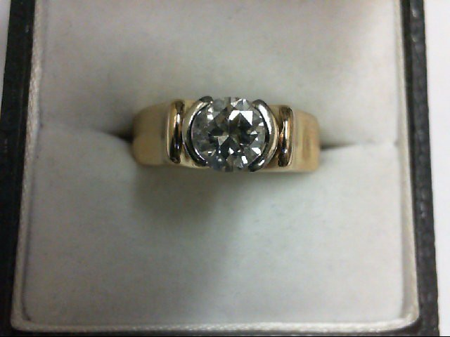 Lady's Diamond Engagement Ring .75 CT. 14K 2 Tone Gold 8.51g