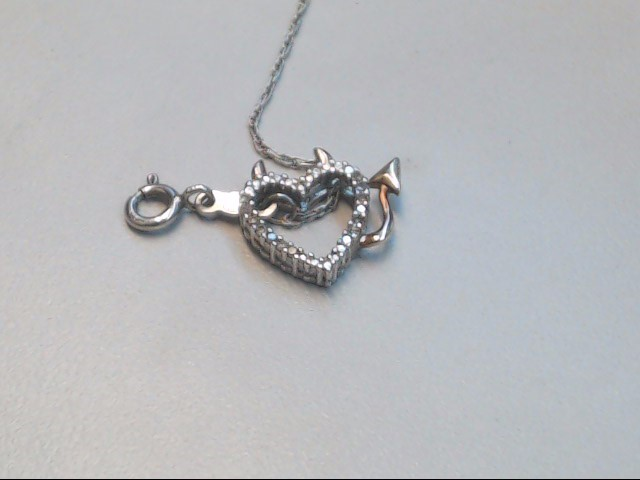 "21.5"" Silver Chain 925 Silver 2.9g"