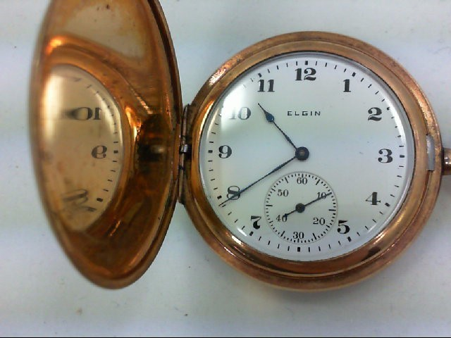 ELGIN POCKET WATCH 1917 DBL RLLR