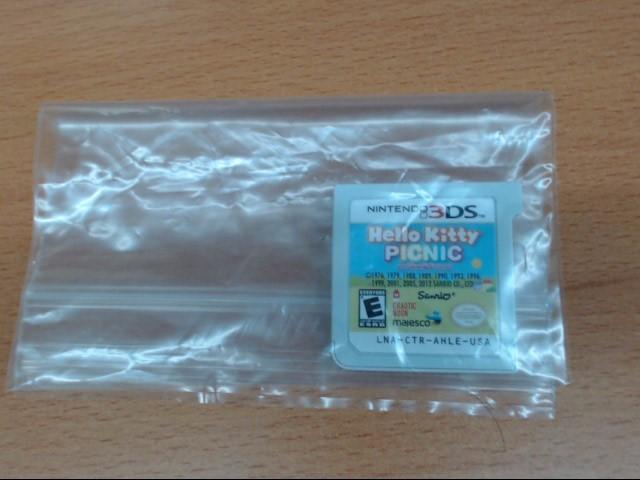 NINTENDO Nintendo 3DS HELLO KITTY PICNIC