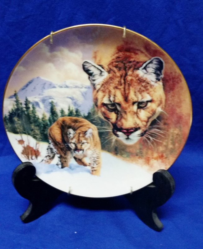 """""""MOUNTAIN MAJESTY"""" COLLECTORS PLATE - BRADFORD EXCHANGE"""