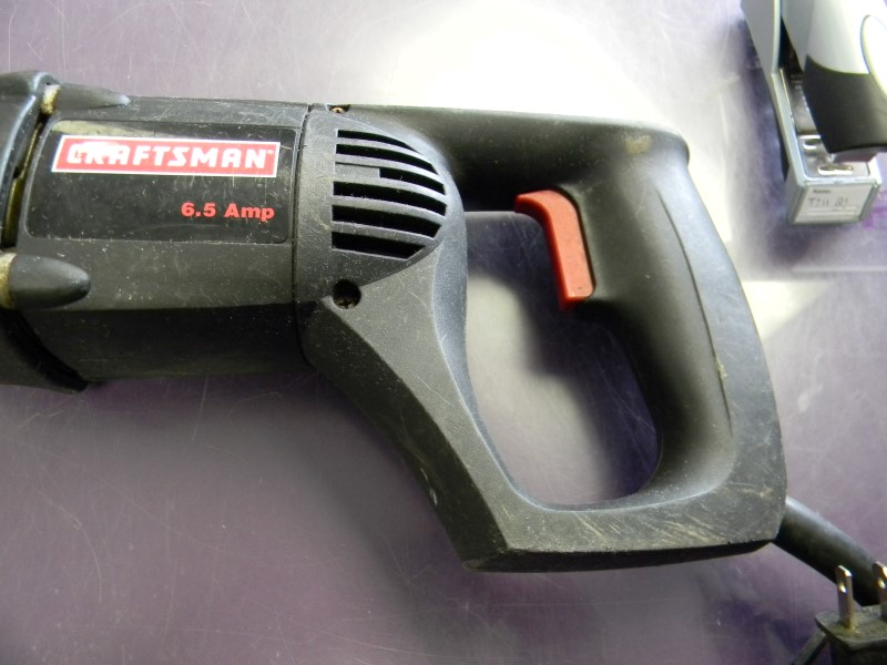 "Sears Craftsman 1"" Variable Speed Reciprocating Sawzall 31571020"