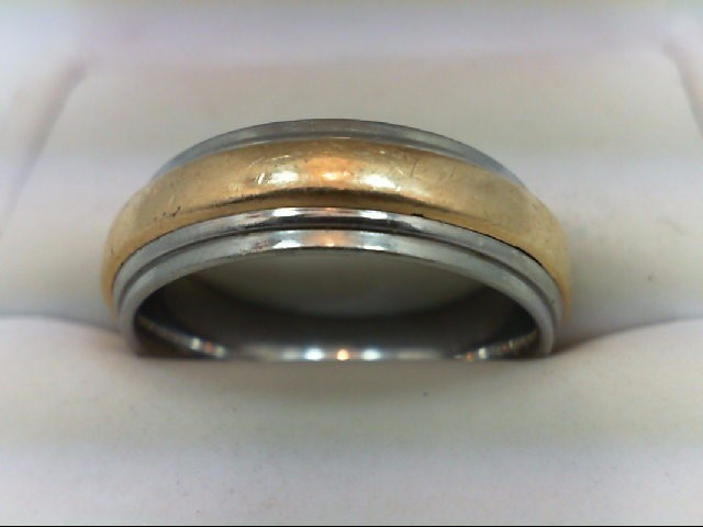 Gent's Ring Gold and Stainless 6.8g