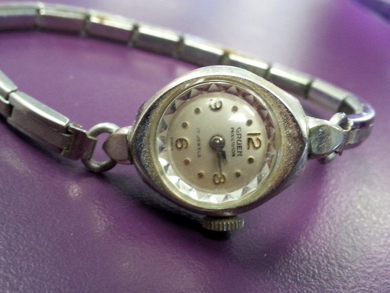 GRUEN Lady's Wristwatch PRECISION WATCH