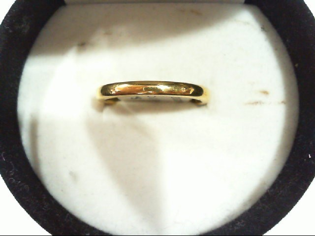 Lady's Gold Ring 22K Yellow Gold 3.7g