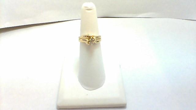 Lady's Diamond Wedding Set .33 CT. 14K Yellow Gold 4.4g