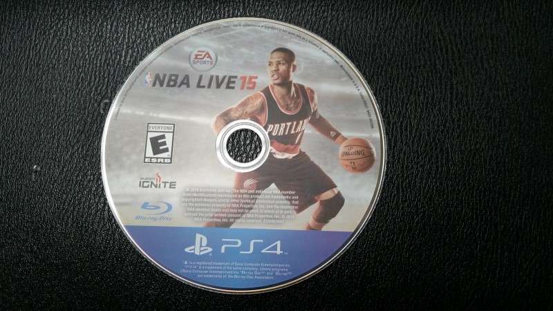 SONY PLAYSTATION 4 NBA LIVE 15