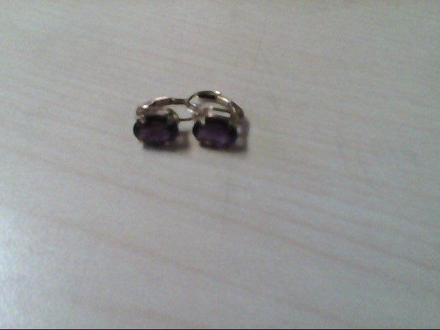 Gold Earrings 10K Yellow Gold 1.5g