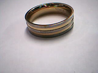 Gent's Gold Wedding Band 18K Yellow Gold 5.26g