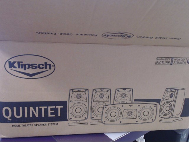 KLIPSCH Speakers/Subwoofer QUINTET 101440