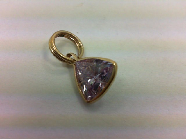 Gold Pendant 10K Yellow Gold 1.1g
