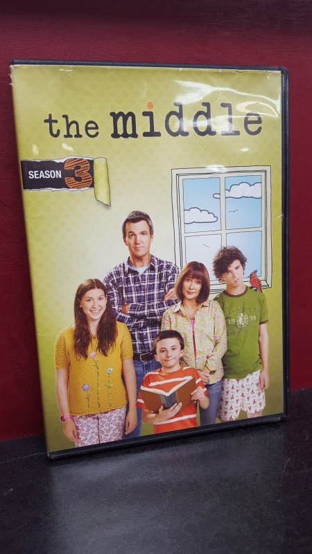 DVD THE MIDDLE SEASON THREE