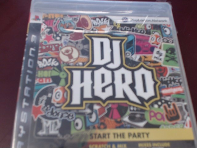 SONY PS3 DJ HERO