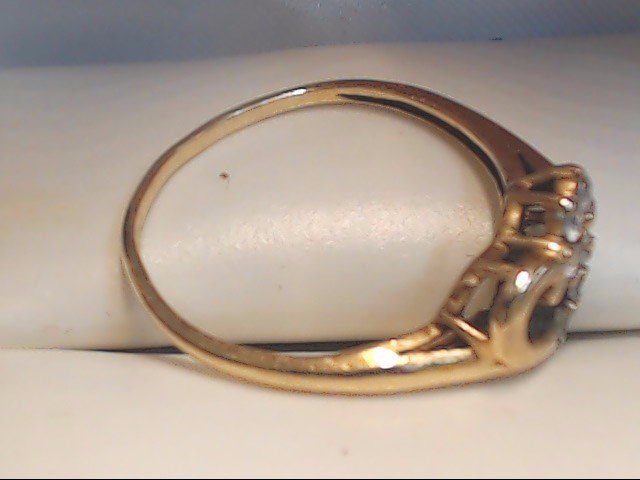 Lady's Gold Ring 10K Yellow Gold 1.5g Size:5.5