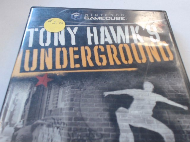 GAMECUBE TONY HAWK'S UNDERGROUND