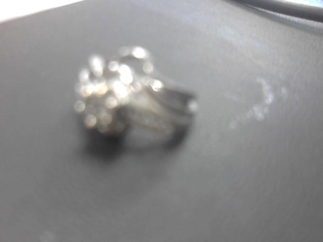 Lady's Diamond Wedding Set 21 Diamonds .67 Carat T.W. 14K White Gold 7.2g