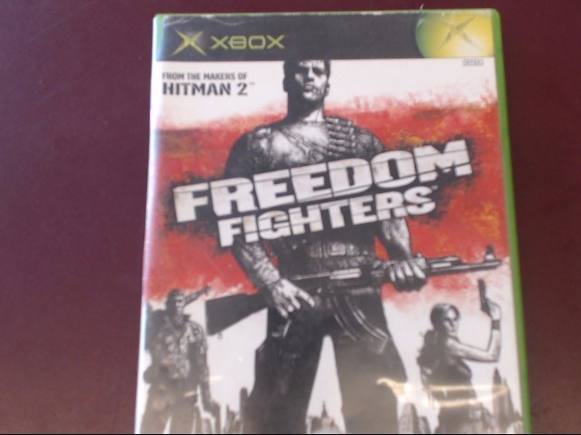 MICROSOFT XBOX FREEDOM FIGHTERS