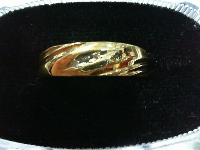 Gent's Gold Wedding Band 14K Yellow Gold 3.2g