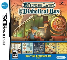 Professor Layton and the Diabolical Box (Nintendo DS) *CART ONLY*