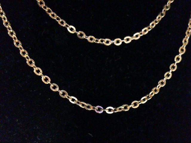 "16"" Gold Chain 18K Yellow Gold 1.1g"
