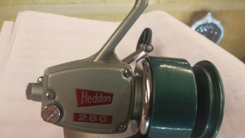 HEDDON MARK Fishing Reel SPIN O MATIC HEDDON SPIN O MATIC