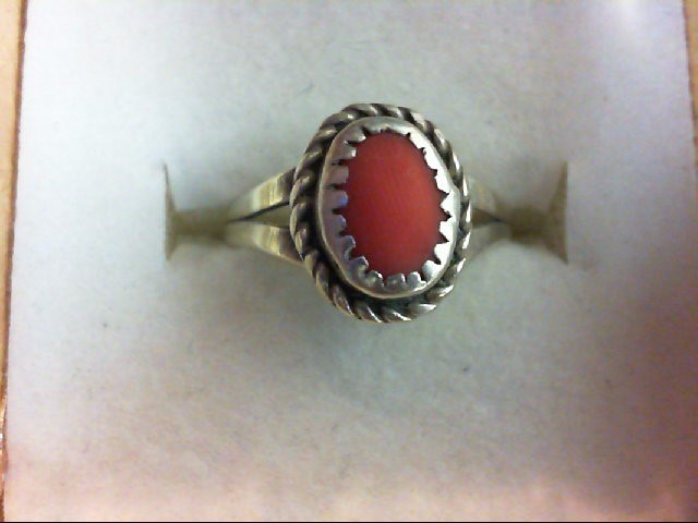 Lady's Silver Ring 925 Silver 1.8g Size:5
