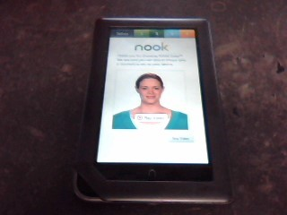 BARNES & NOBLE Tablet NOOK BNRV200