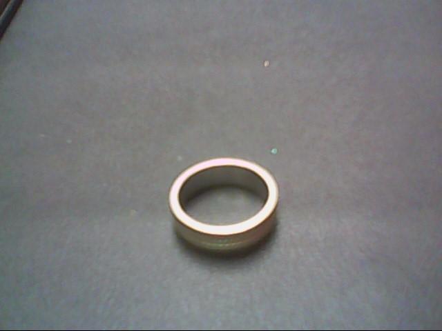 Gent's Gold Wedding Band 14K White Gold 5g Size:6.5
