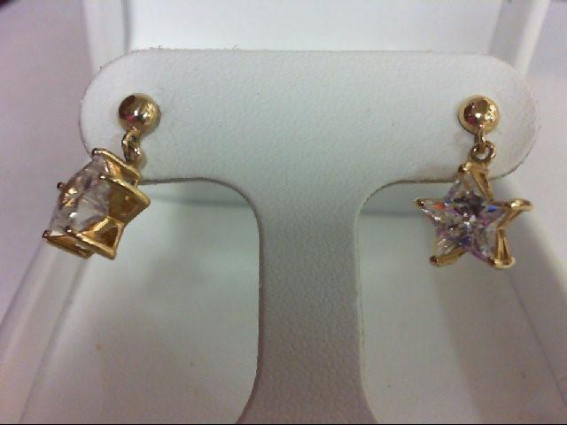 Gold Earrings 14K Yellow Gold 2.9g