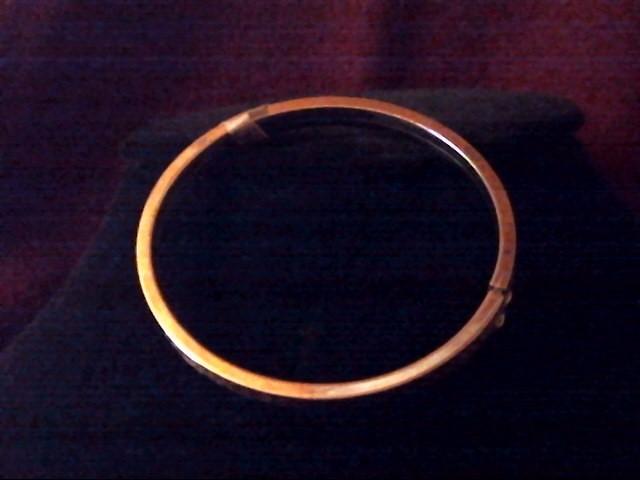 Gold Fashion Bracelet 8K Yellow Gold 8.1dwt