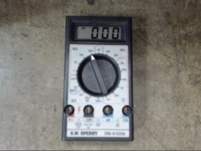SPERRY INSTRUMENTS Multimeter DM-4100A