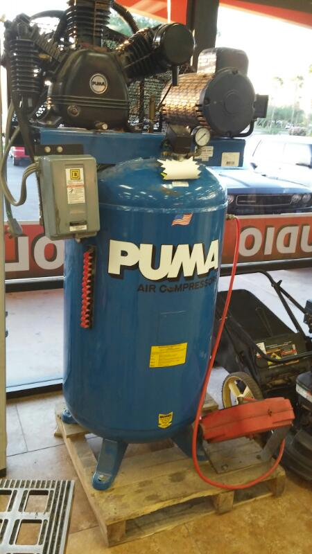 PUMA KNIFE Air Compressor TUE7580VM