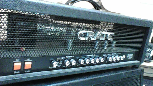 CRATE GUITAR AMP HEAD BV-120HB