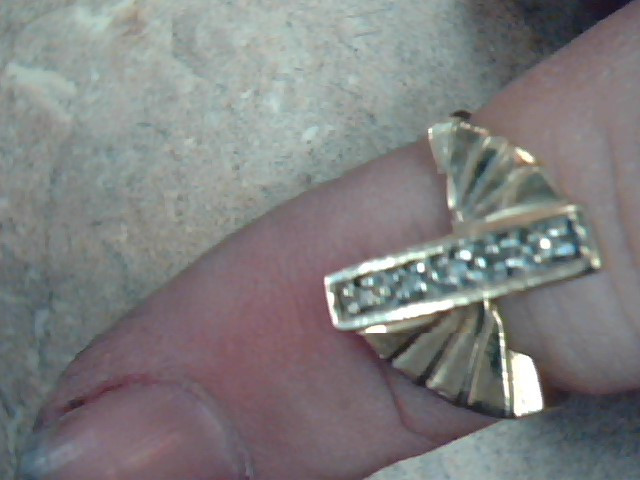 DIAMOND RING JEWELRY, 10KT, 2.60